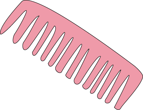 comb clipart hairdresser