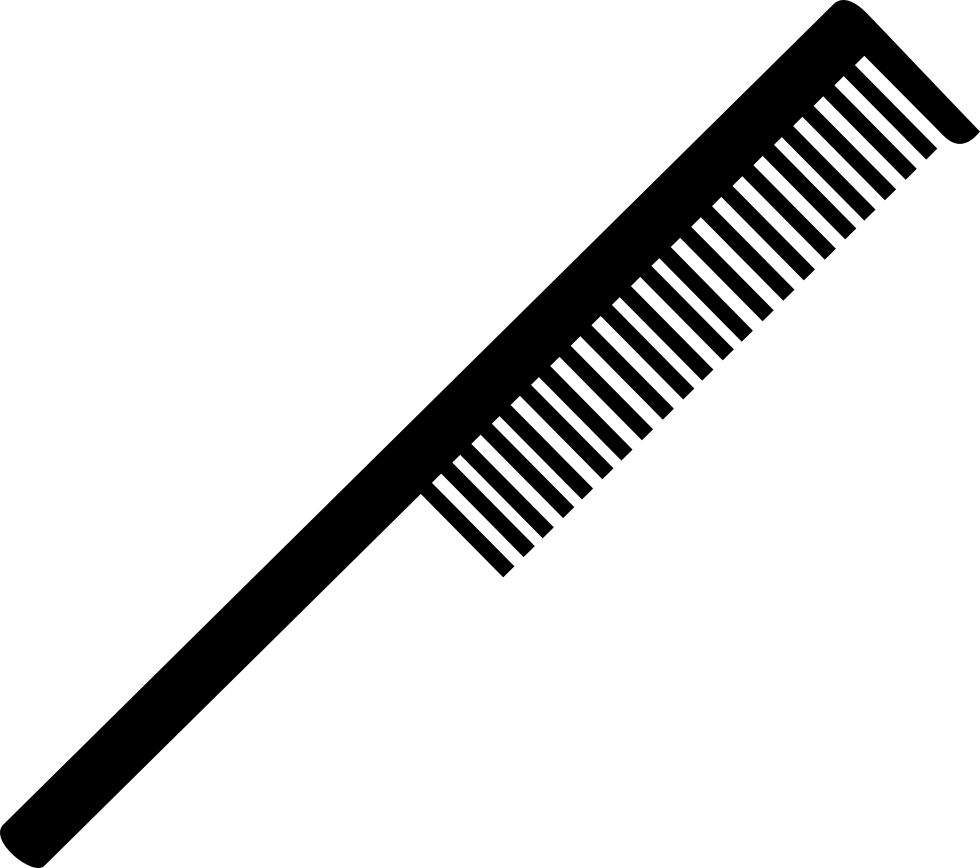 Comb svg. Tool for hair png