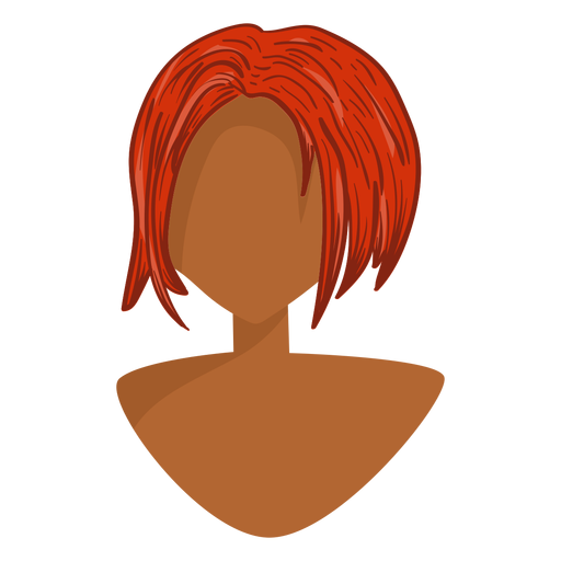 Ginger vector red. Hair icon transparent png
