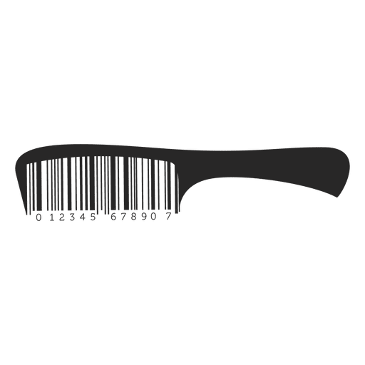 Comb svg vector. Codebars hair transparent png