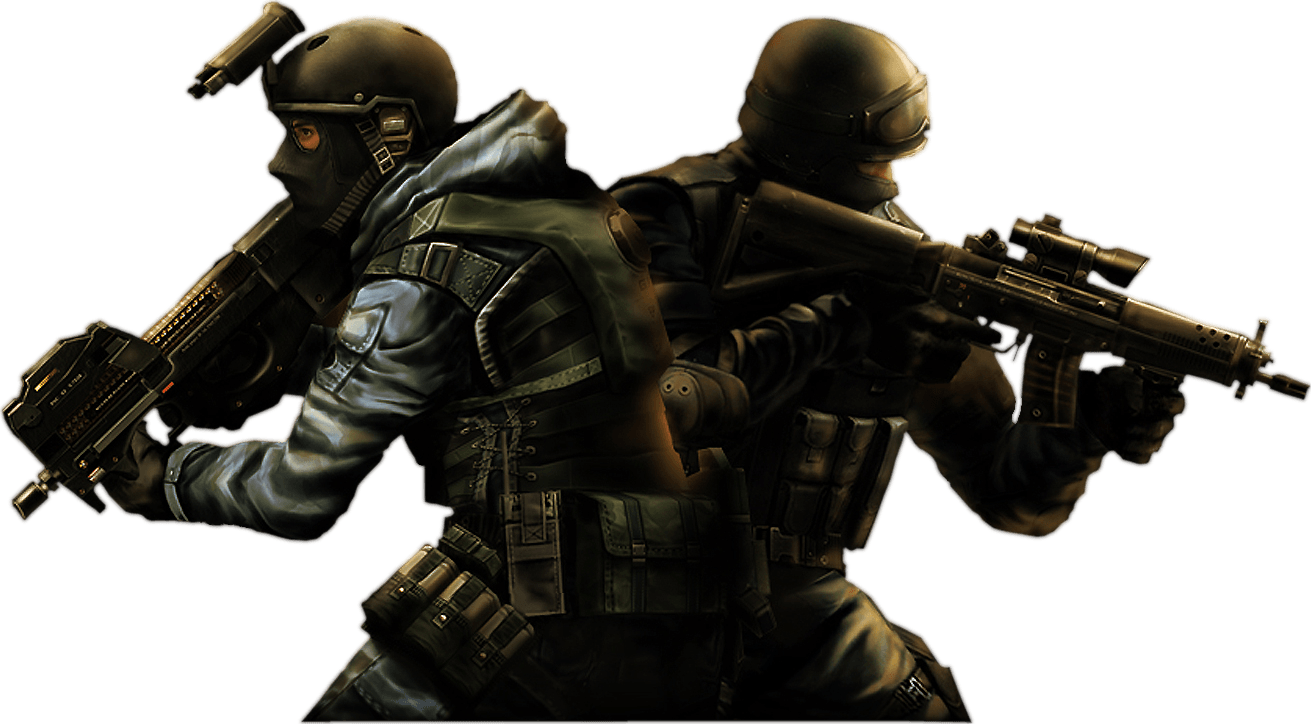 Shooter games png. Counter strike two fighters