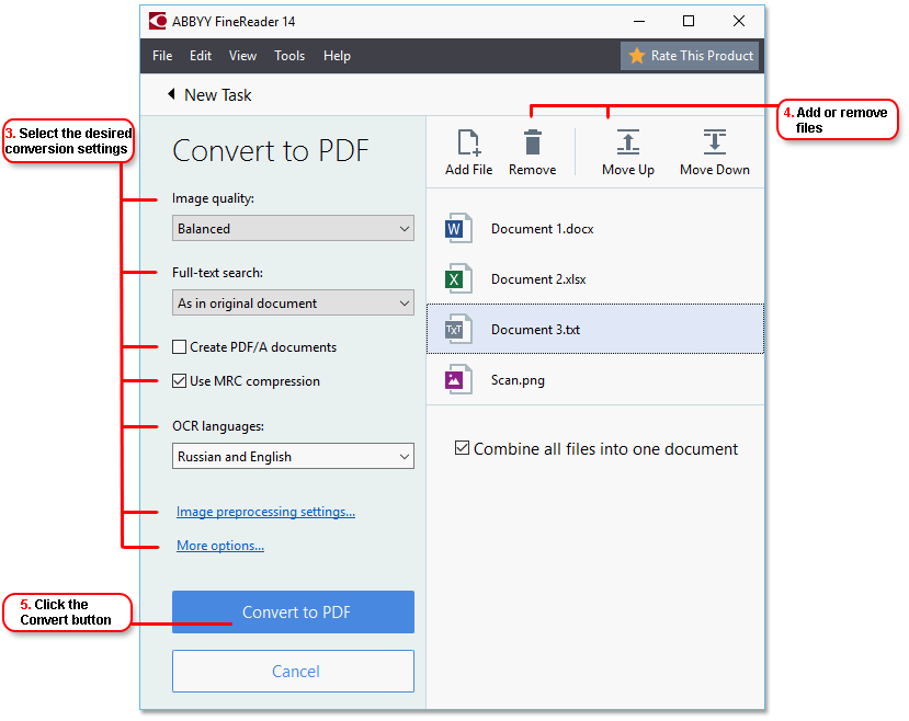 Combine png files into one. Start quickconversion in the