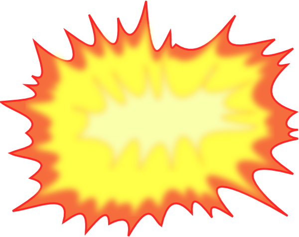 Comic book explosion background png. Drawn pencil and in