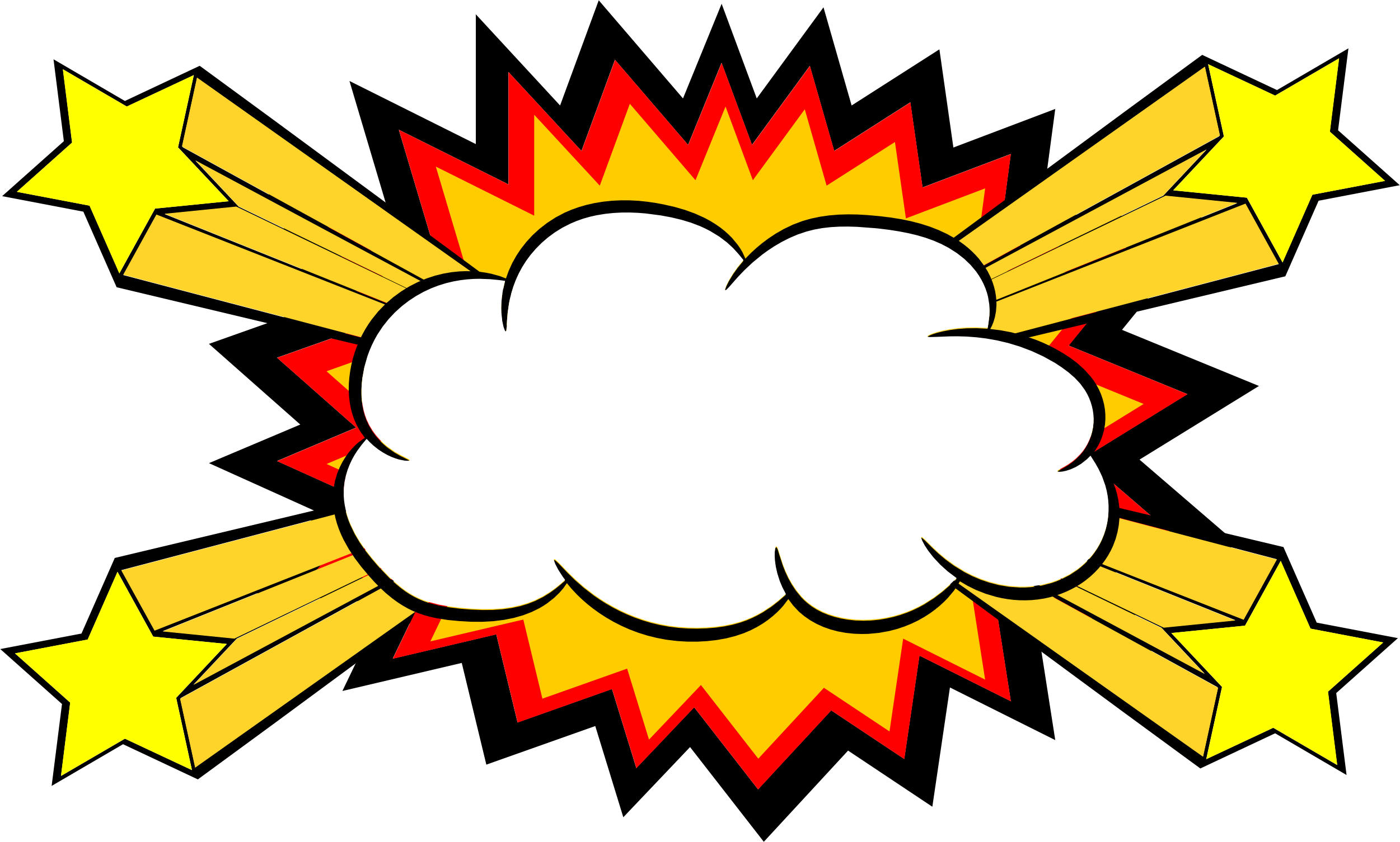 Comic book explosion background png. Bubble transparent svg