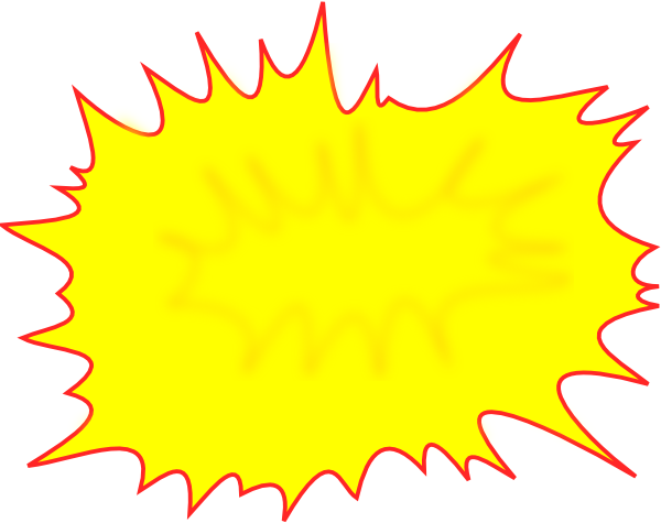 Comic burst png. Clip art at clker