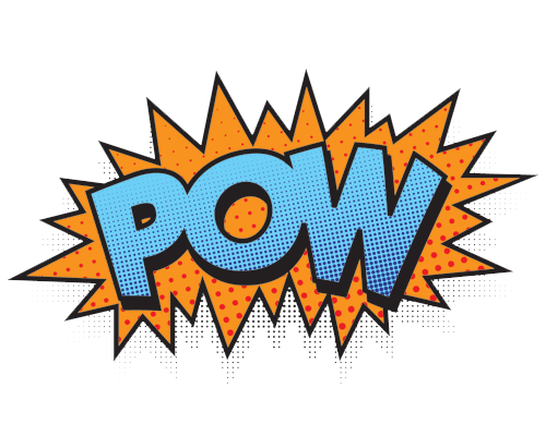 Comic book pow png. Realms home of