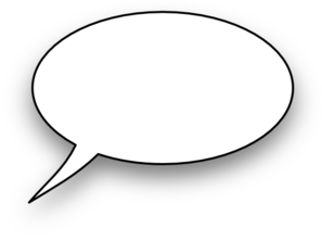 cartoon speech bubble png