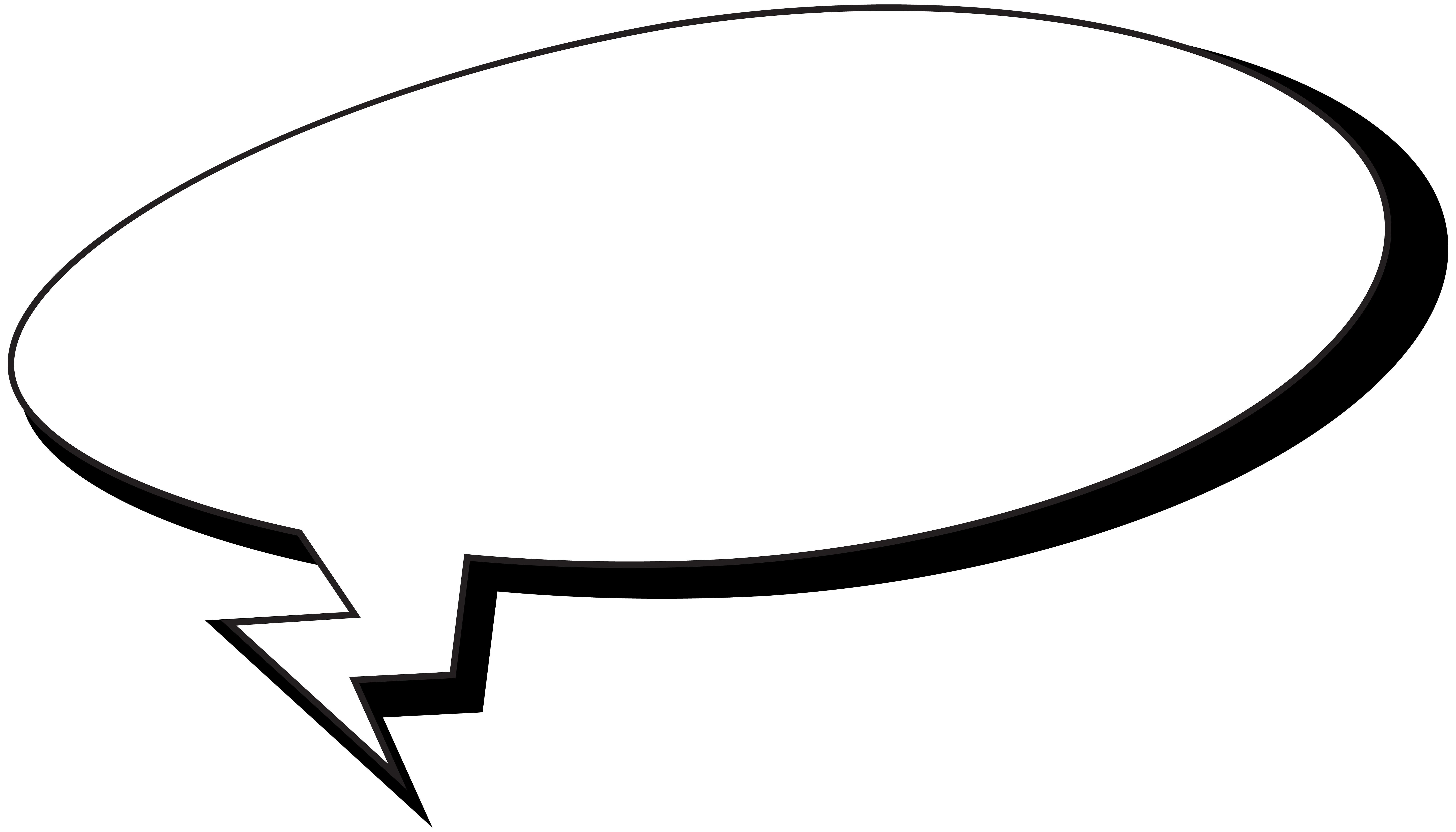 Comic speech bubble png. Comics clip art image