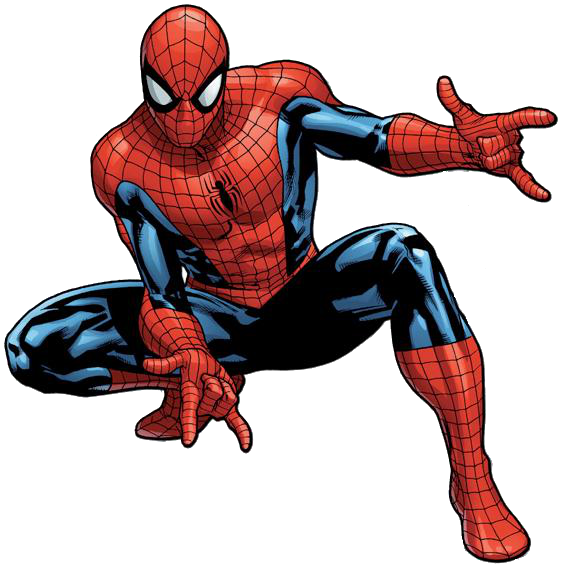 Comic spiderman png. Image peter parker earth