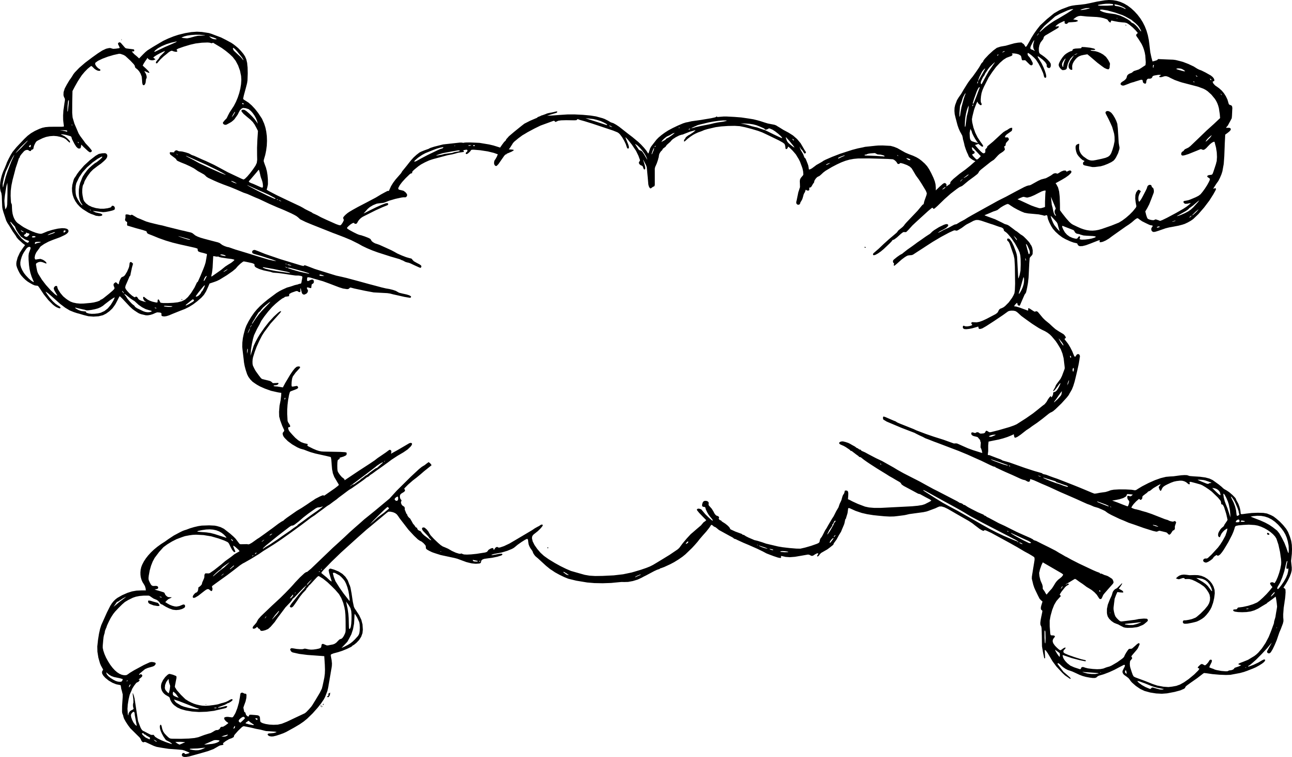Comic word bubble png. Hand drawn speech explosion