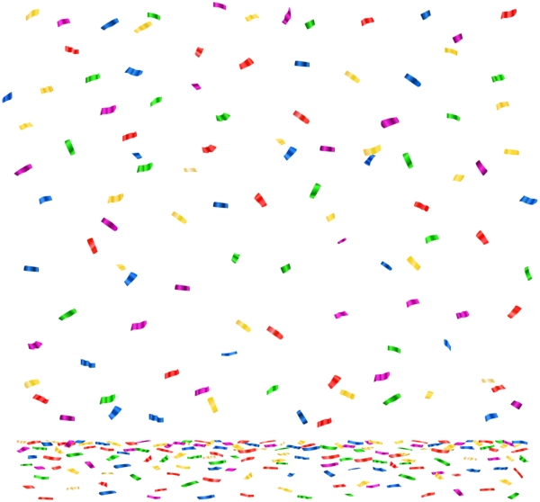 red confetti png