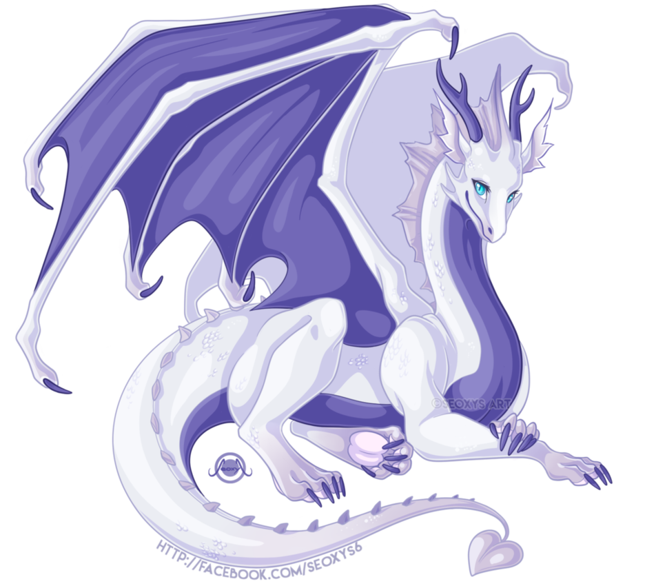 Commission drawing. Dragon oc by seoxys