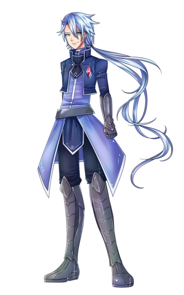 Commission drawing full body. Cure saber by chance