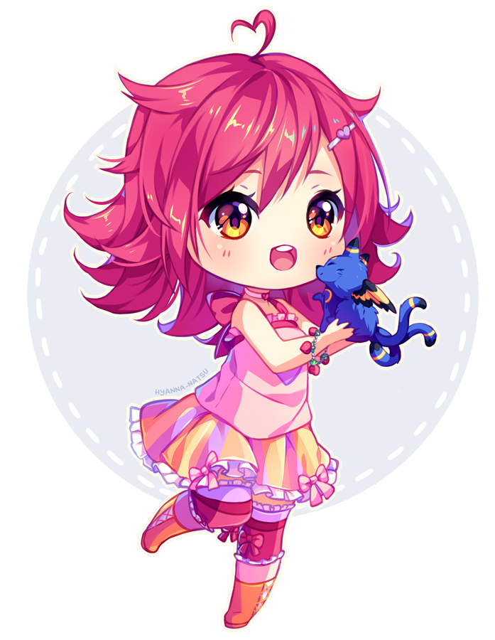 Chibis drawing deviantart. Commission berry happy by