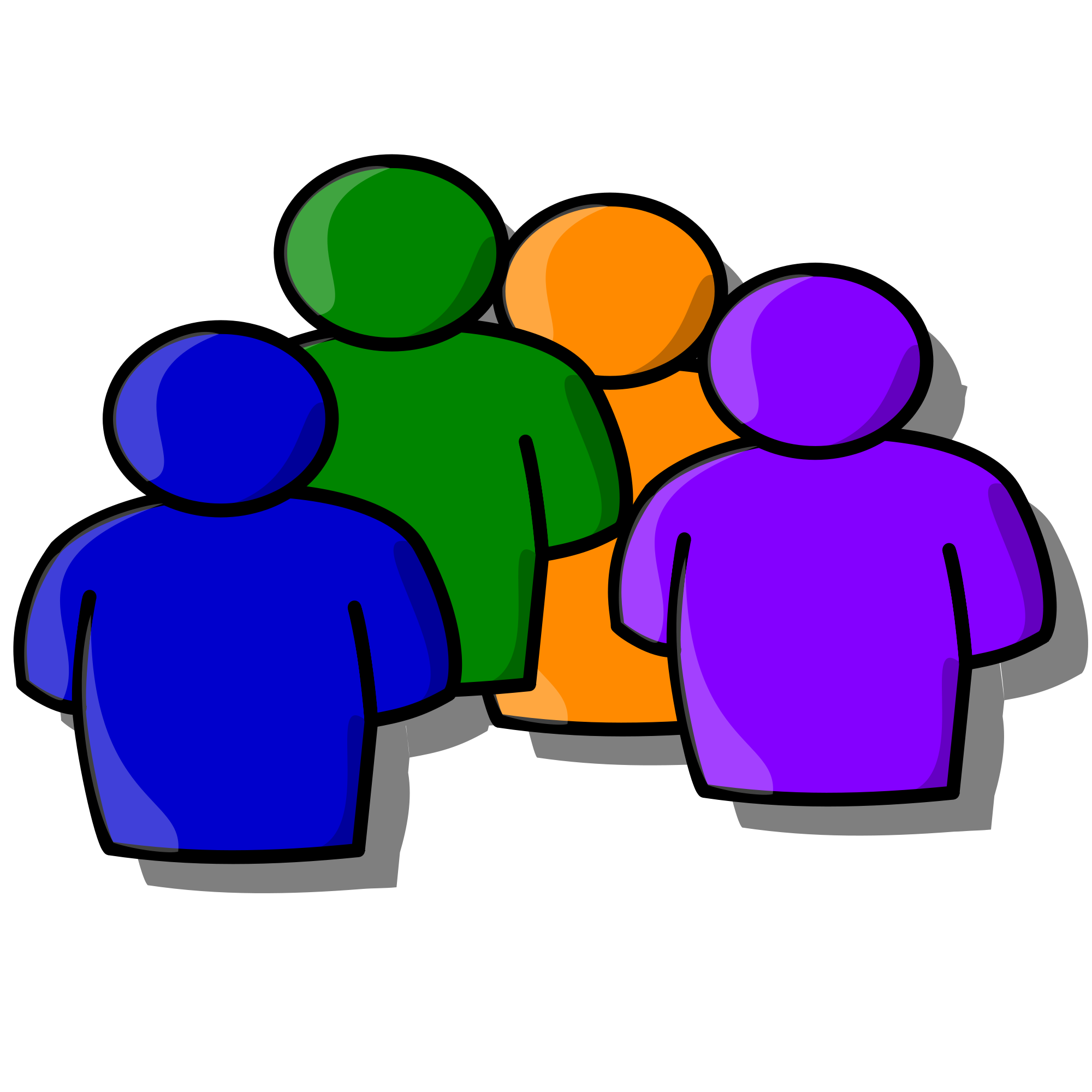 Commons clipart 4 person. File people icon svg