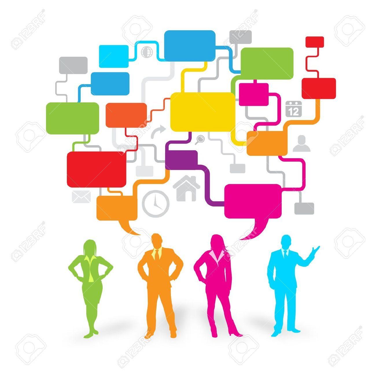 communication clipart business communication