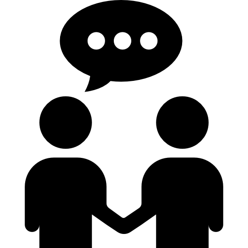 Communication icon png. Businessmen trading free business