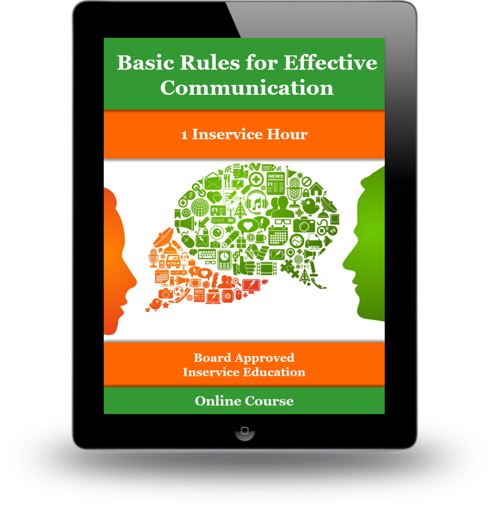 Communication transparent basic. Rules for effective ce