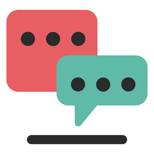 Communication transparent vector. Chat icon png svg