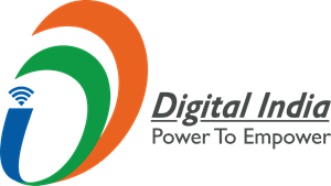 Communication vector digital. India power logo eps
