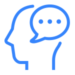 Communication vector skill. Filled icon free download
