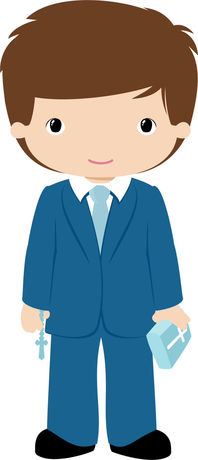 Communion clipart child. Boys in their first