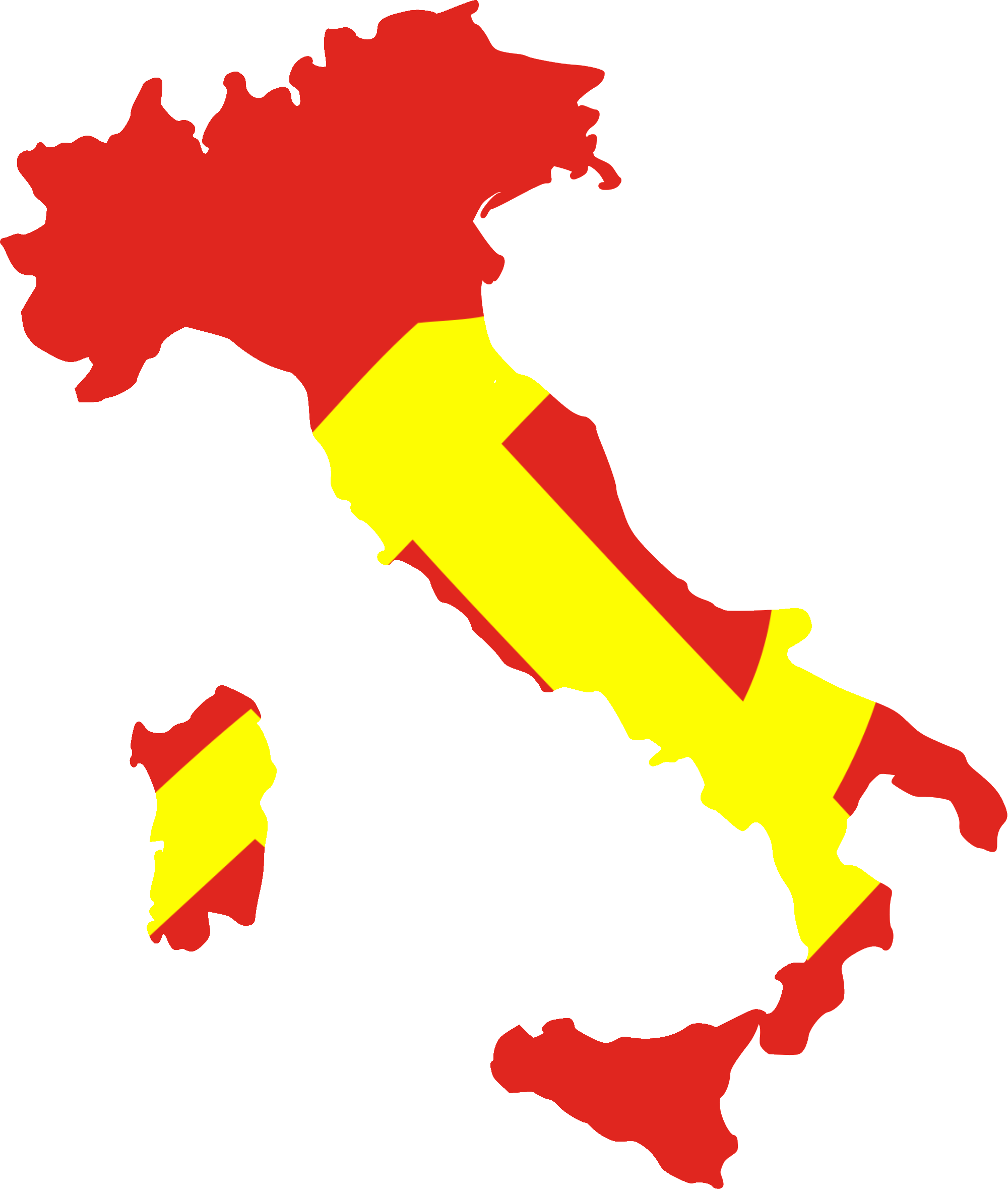 Italy map png