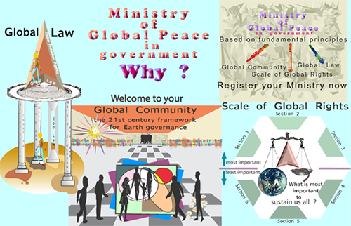Community clipart peaceful community. Global peace earth ministry