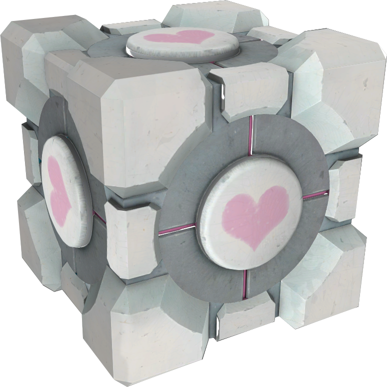 companion cube transparent png