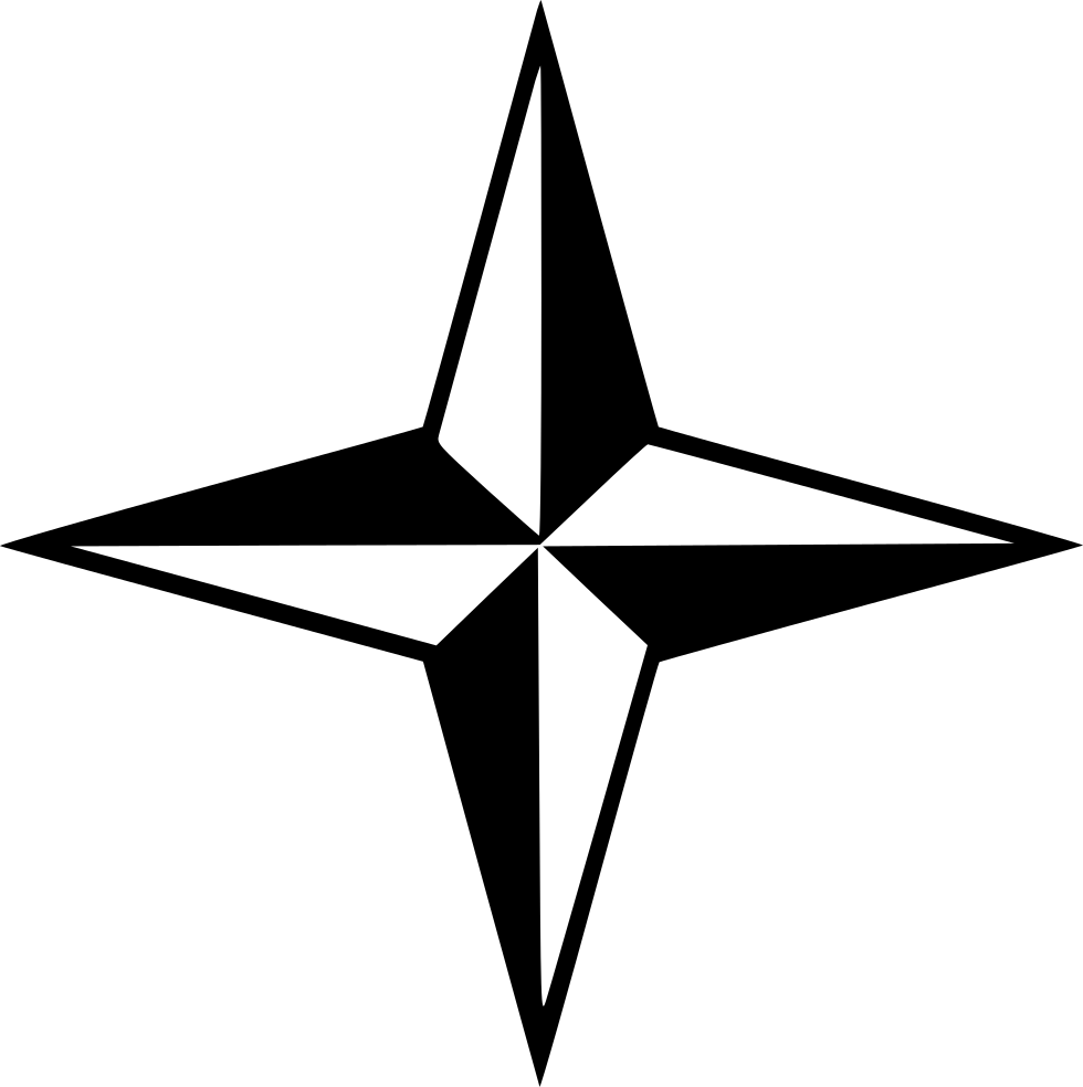 Compass arrow png. Direction directions svg icon