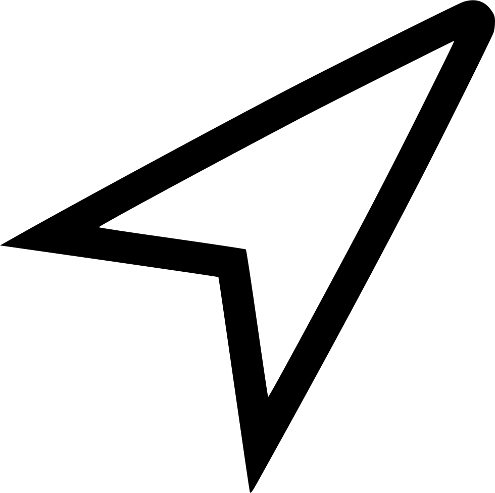 Compass arrow png. Direction north svg icon