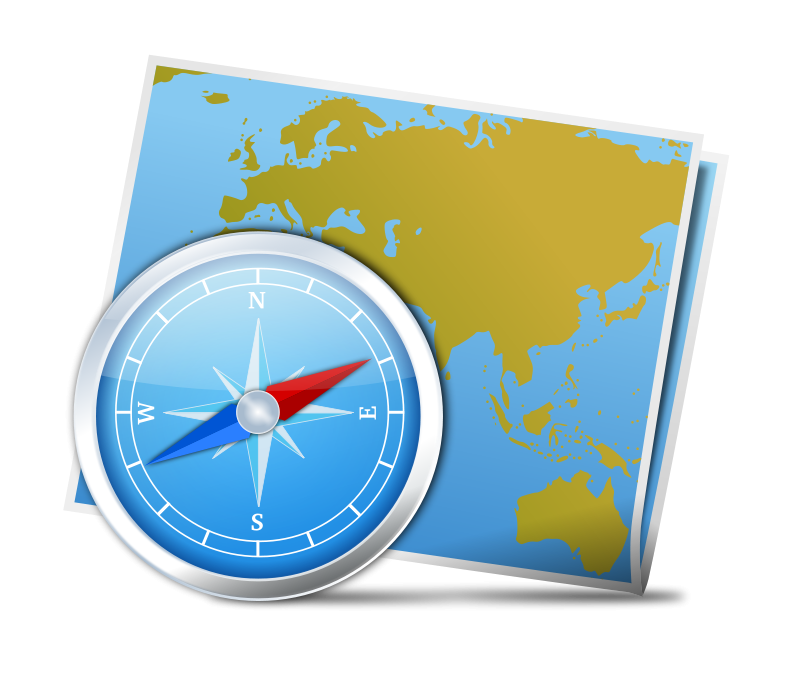 Compass clipart scout map. And free clip art