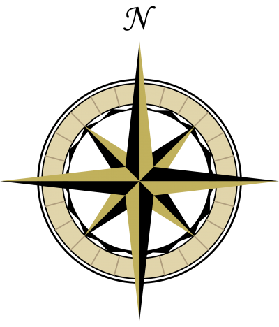 Map Compass Transparent & PNG Clipart Free Download - YA-webdesign