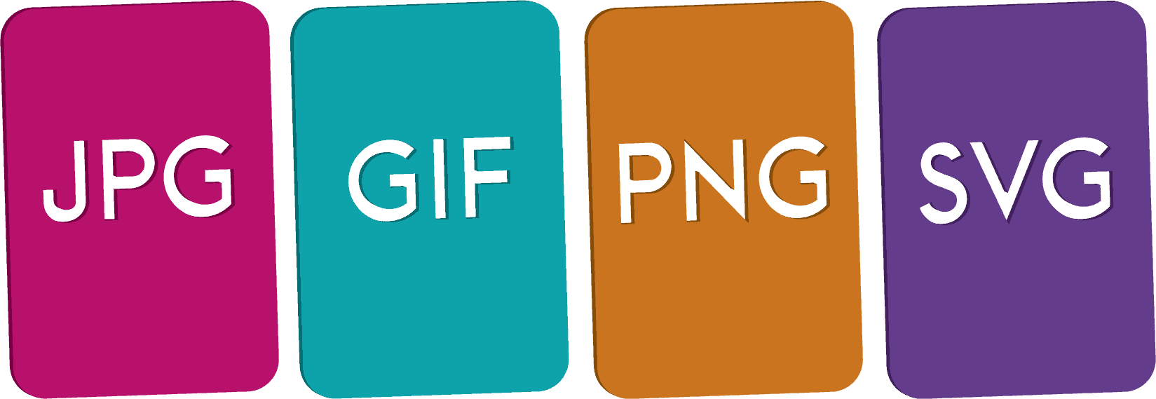 Compress jpg & png images. What the difference between