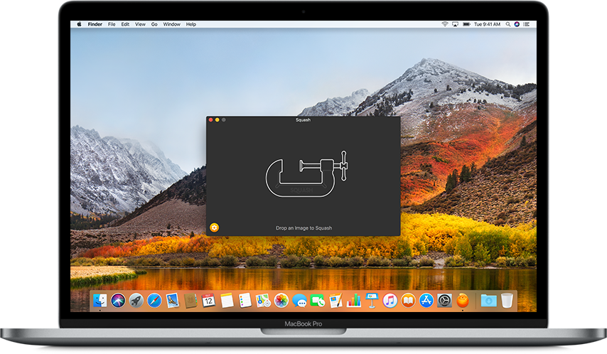 Compress png images without losing quality. Squash app for mac