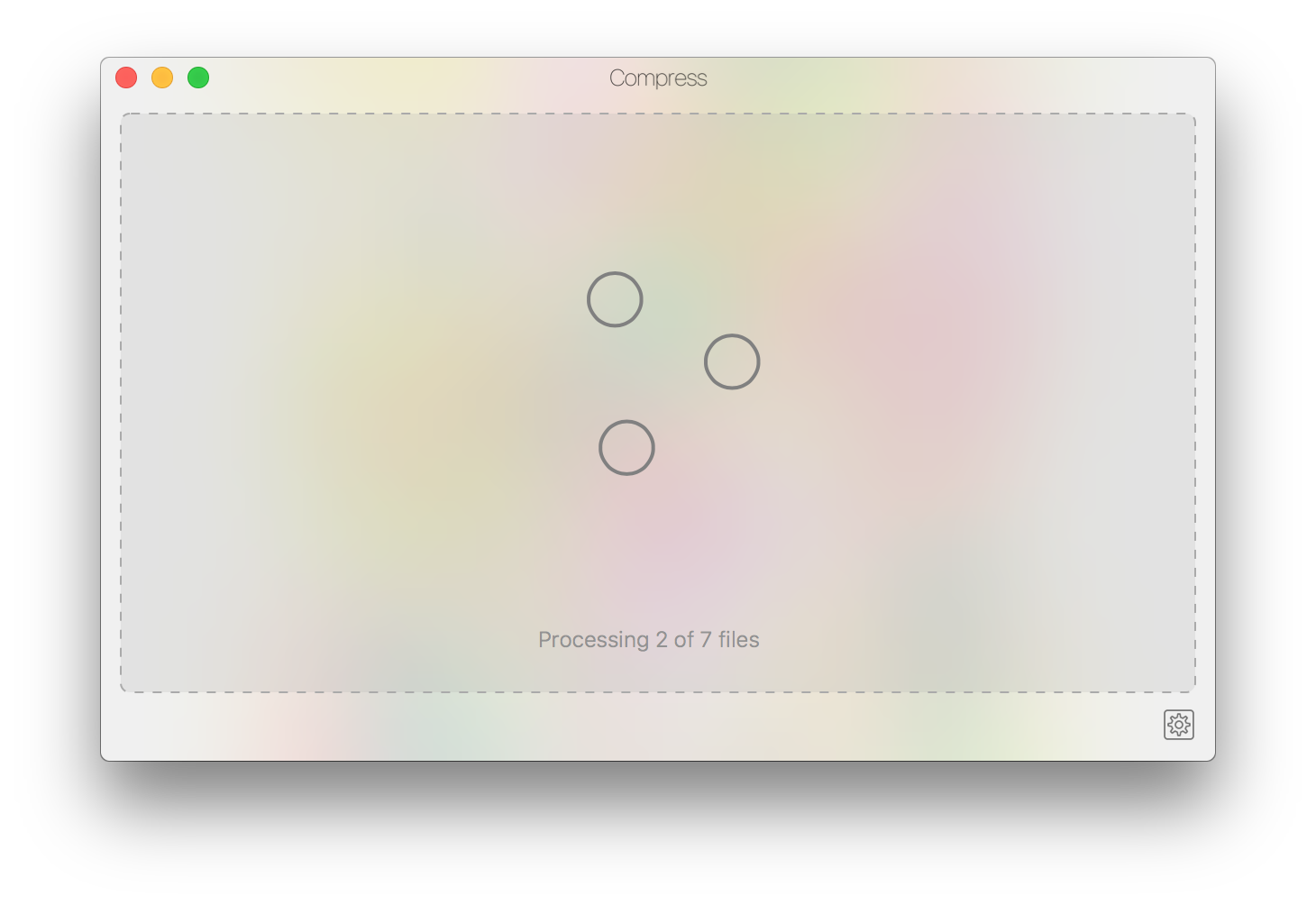 Compress png to jpg. Introducing for macos bzg