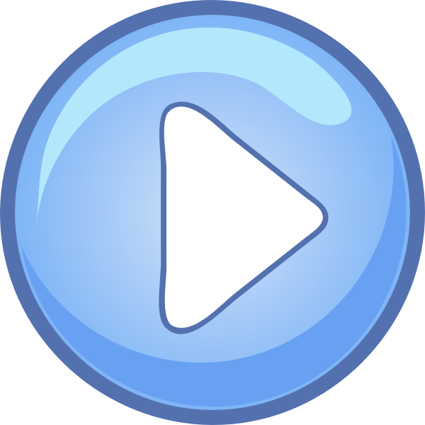 Computer buttons png. Play button icons vector