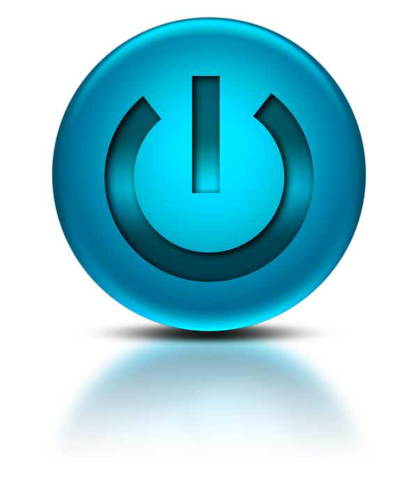 Computer buttons png. Power button icons vector