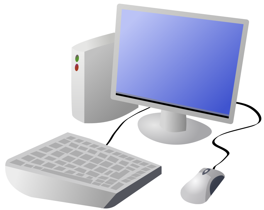Computer clip animated. Free pictures of cartoon