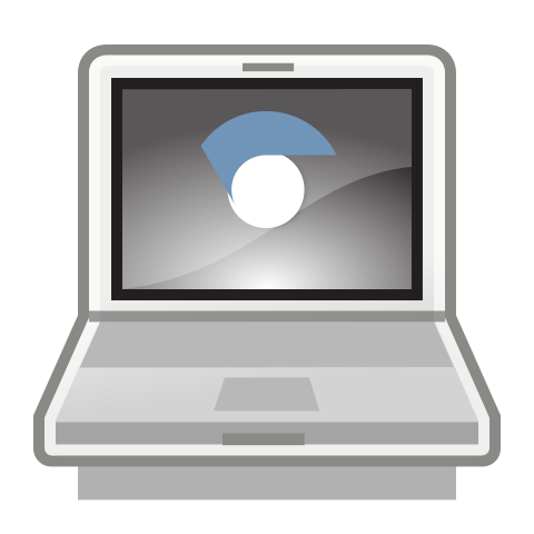 Computer clip chromebook. Take home management and