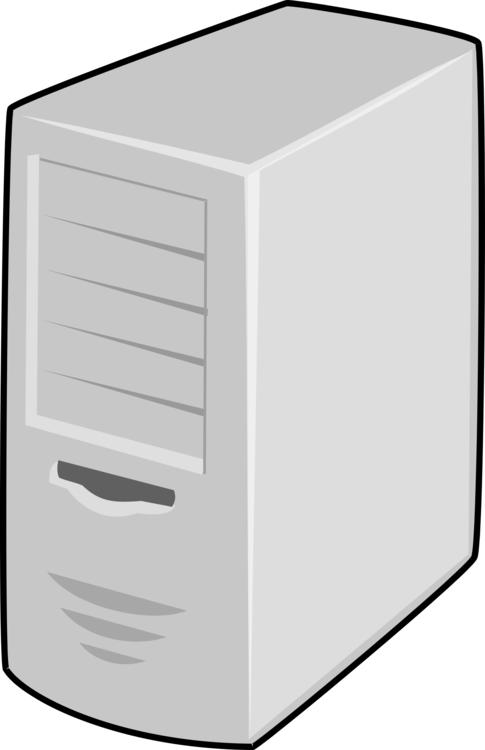 Computer clip home. Servers image server icons