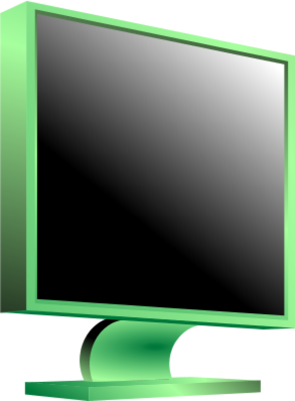 Computer clip monitor. Free pictures download art