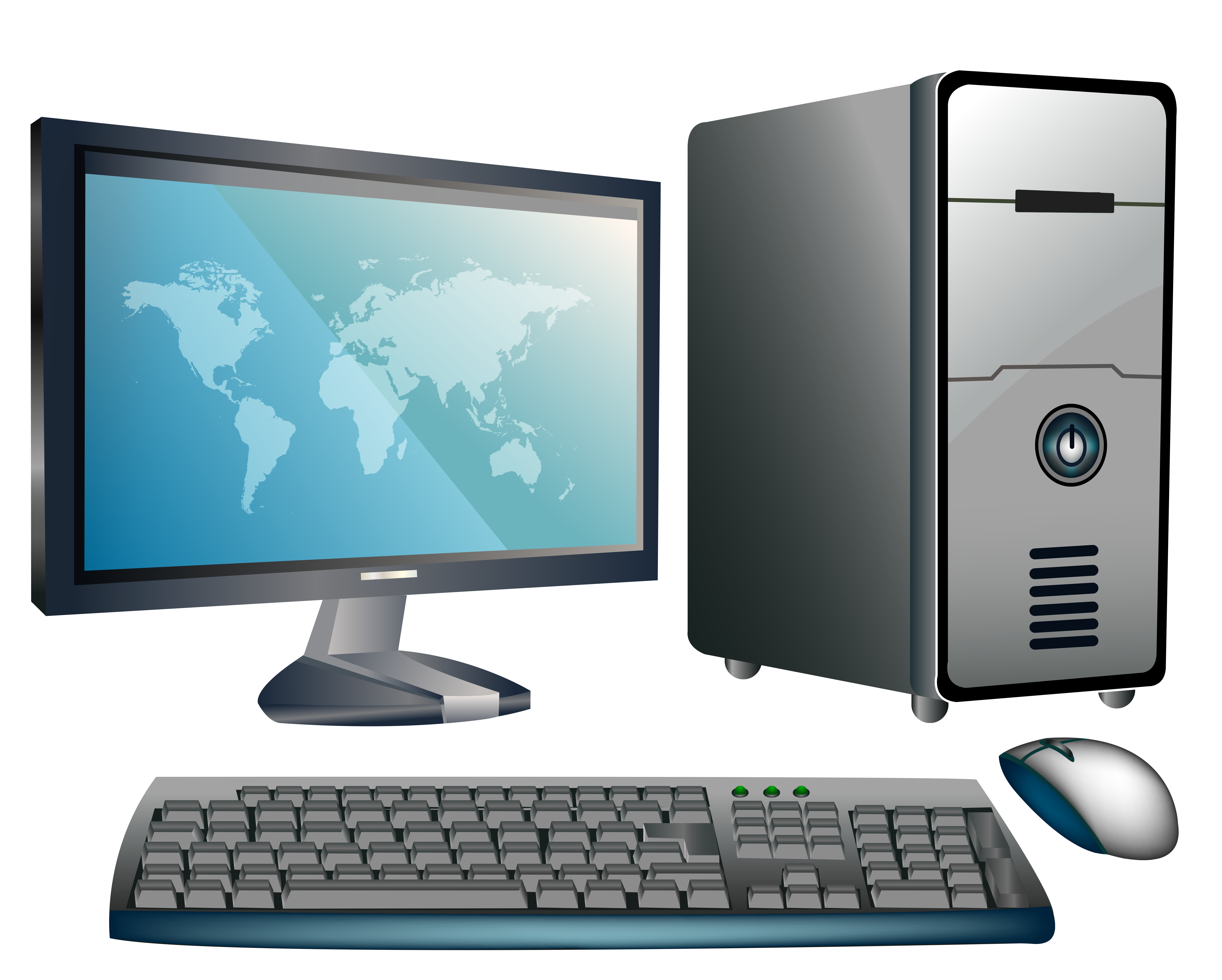 Desktop png best web. Computer clipart image black and white library