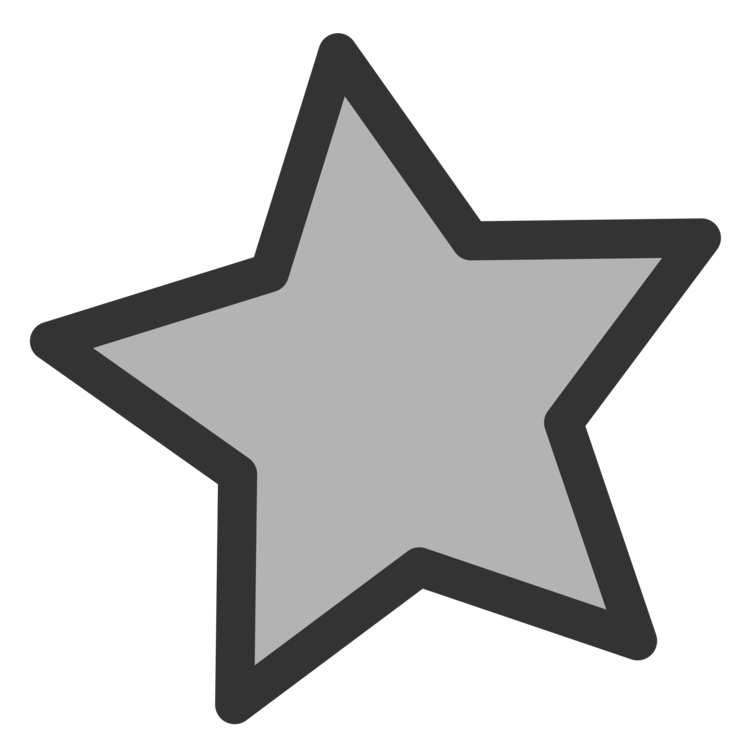 Computer clipart grey. Icons star silver color