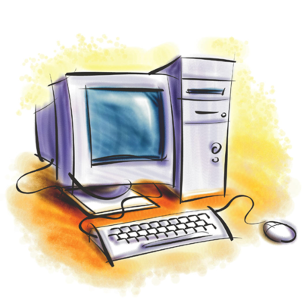 Desktop image free images. Computer clipart jpg library download