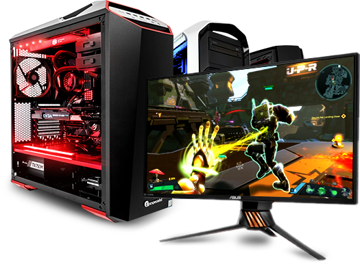 Computer gaming png. Pcspecialist pcs powerful configure
