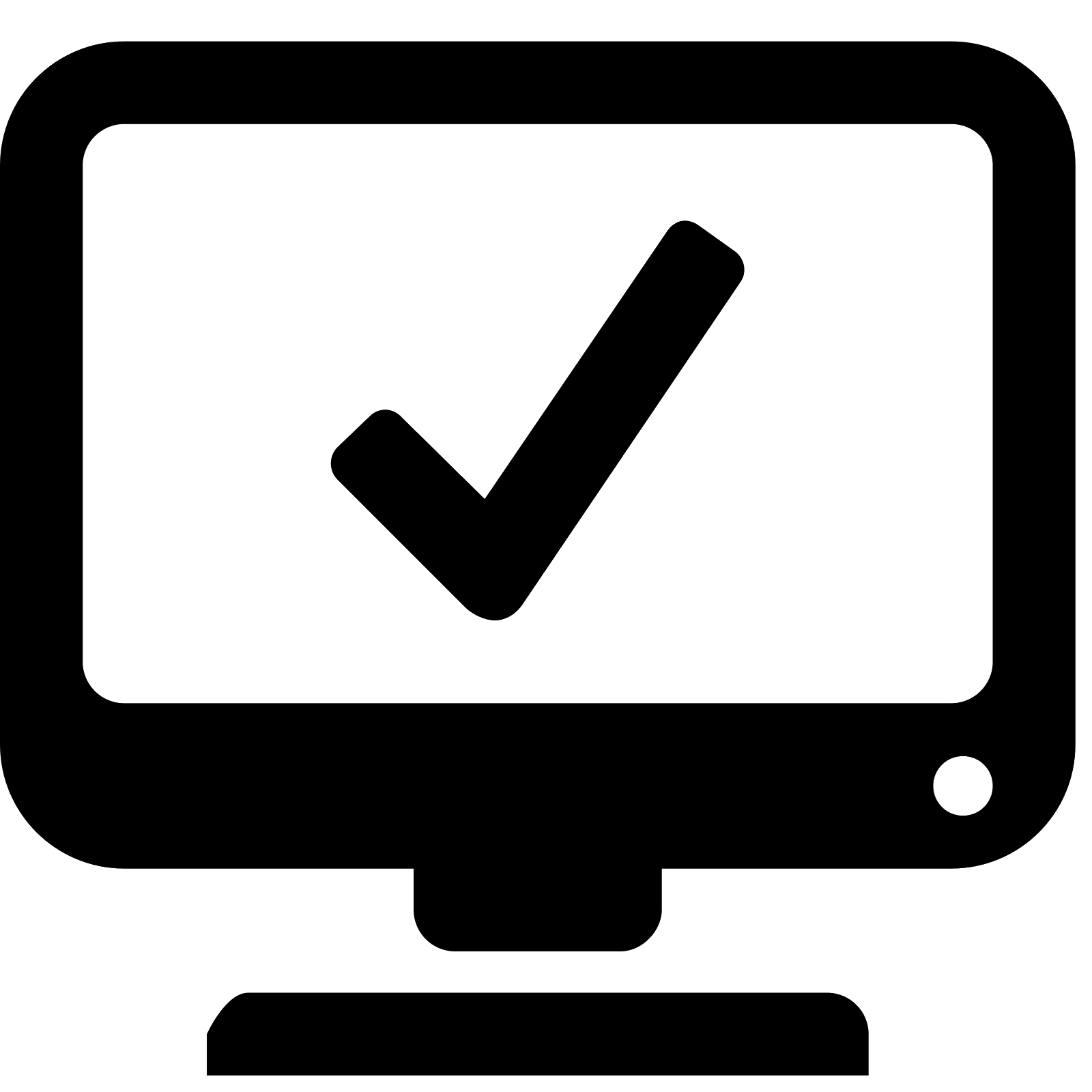 Computer logo png. System information icon free