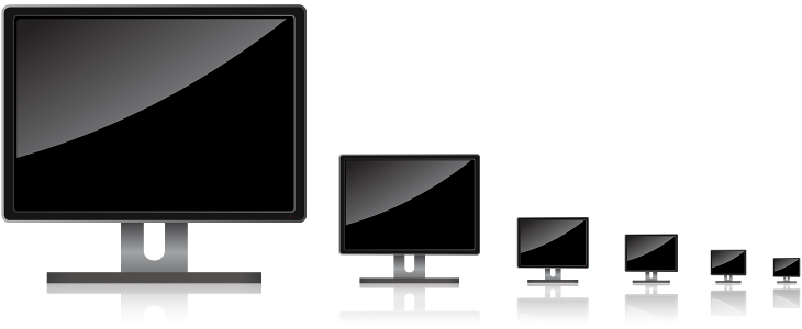Vector screening pc screen. Free png computer icon