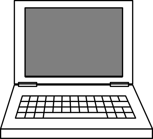 Computers clipart notebook. Free laptop page of