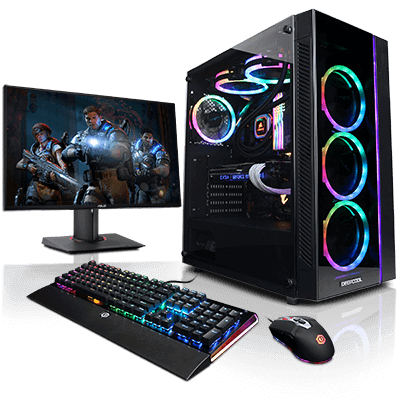 Computers drawing gaming computer. Customize gamer xtreme pc